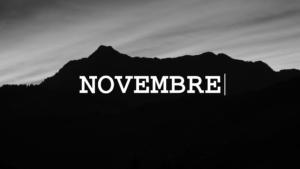 Les projets du mois de Novembre 2019