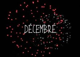 Les projets du mois de Décembre 2019